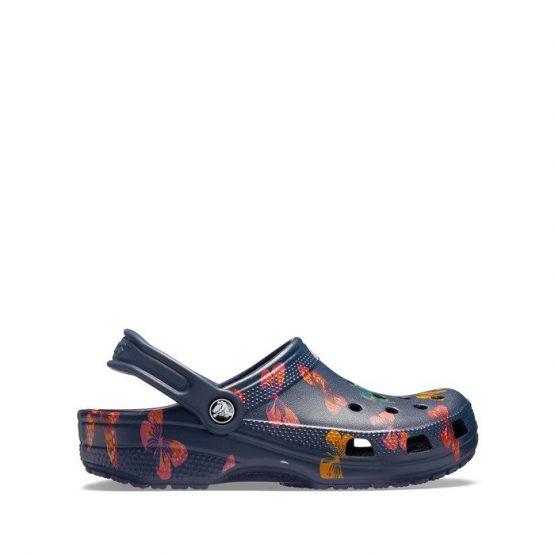 נעליים Crocs לנשים Crocs Classic Vacay Vibes - צבעוני כהה