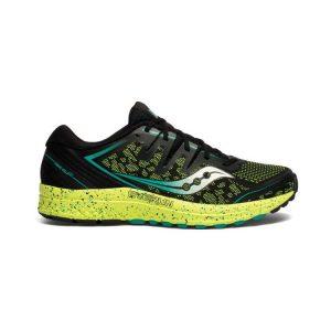 נעליים סאקוני לגברים Saucony GUIDE ISO 2 TR - שחור/צהוב