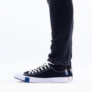 נעלי סניקרס קונברס לגברים Converse Chuck Taylor All Star OX - שחור
