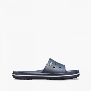נעליים Crocs לגברים Crocs Crocband III Slide - כחול כהה