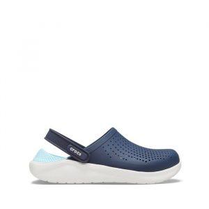 כפכפי Crocs לגברים Crocs Lite Ride Clog - כחול כהה