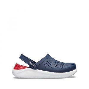 נעליים Crocs לגברים Crocs Lite Ride Clog - לבן  כחול  אדום