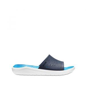 נעליים Crocs לגברים Crocs Literide Slide - כחול כהה