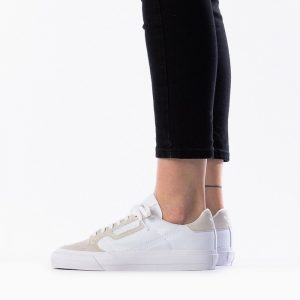 נעליים Adidas Originals לנשים Adidas Originals Continental Vulc - לבן