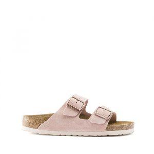 נעליים בירקנשטוק לנשים Birkenstock Arizona - לבן/ורוד