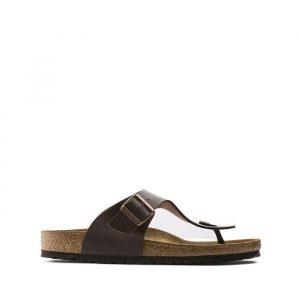נעליים בירקנשטוק לנשים Birkenstock Ramses - חום כהה