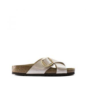 נעליים בירקנשטוק לנשים Birkenstock Siena Big Buckle - זהב