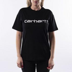 ביגוד קארהארט לנשים Carhartt WIP Script - שחור