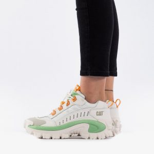 נעליים קטרפילר לנשים Caterpillar Intruder Oxford - לבן