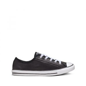 נעלי סניקרס קונברס לנשים Converse Chuck Taylor All Star Dainty Basic - שחור/לבן