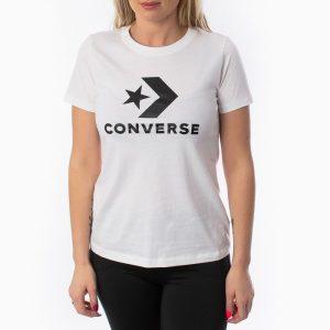ביגוד קונברס לנשים Converse Star Chevron - לבן