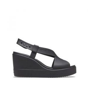 נעליים Crocs לנשים Crocs Brooklyn High Wedge - שחור