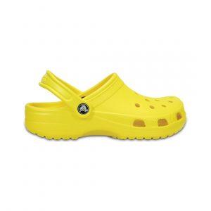 נעליים Crocs לנשים Crocs CLASSIC - צהוב