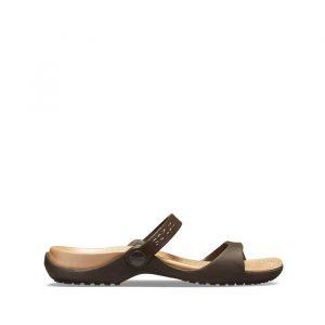 נעליים Crocs לנשים Crocs Cleo - חום
