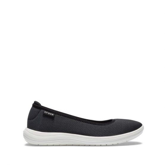 נעליים Crocs לנשים Crocs Reviva Flat - שחור