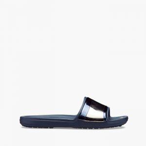 נעליים Crocs לנשים Crocs Sloane Metal Block MULTI - כחול כהה