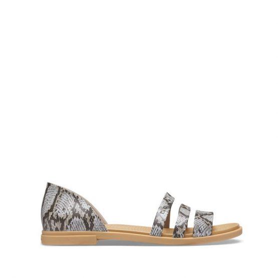 נעליים Crocs לנשים Crocs Tullum Open Flat - צבעוני כהה