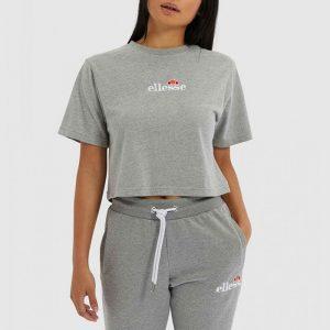 חולצת T אלסה לנשים Ellesse Fireball Cropped - אפור