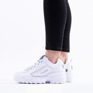 נעלי סניקרס פילה לנשים Fila Disruptor Patches - לבן