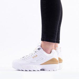 נעליים פילה לנשים Fila Disruptor Premium - לבן