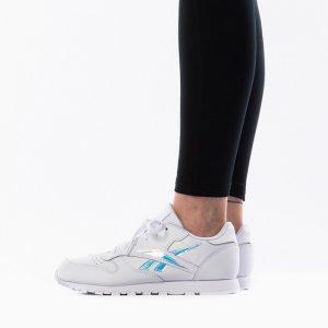 נעלי סניקרס ריבוק לנשים Reebok Classic Leather International - לבן/ כחול