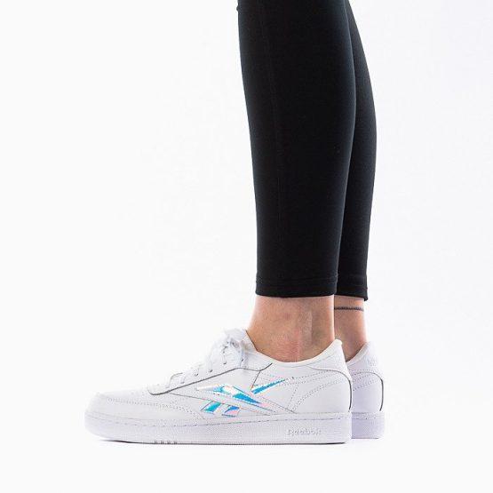 נעליים ריבוק לנשים Reebok Club C - לבן/ כחול
