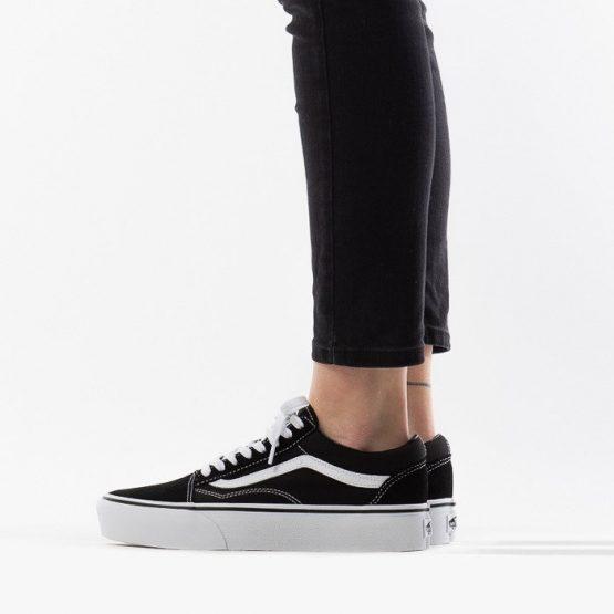 נעלי סניקרס ואנס לנשים Vans Old Skool - שחור