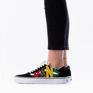 נעליים ואנס לנשים Vans UA Old Skool Multi Animal - צבעוני/שחור