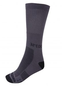 ביגוד COOL32 לגברים COOL32 Antibacterial Socks 3 IN PAC - אפור