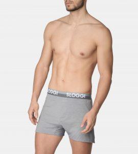 ביגוד סלוגי לגברים Sloggi The Slim Fit Boxer - אפור