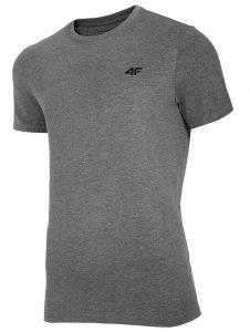 חולצת T פור אף לגברים 4F Nosh4 Tee - אפור כהה