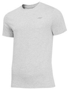 חולצת T פור אף לגברים 4F Nosh4 Tee - אפור בהיר