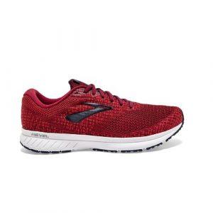 נעלי ריצה ברוקס לגברים Brooks 3 Revel - אדום