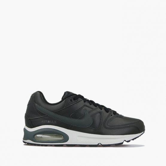 נעליים נייק לגברים Nike Air Max Command Leather - שחור/לבן