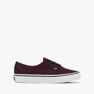 נעליים ואנס לגברים Vans Authentic - בורדו/אדום