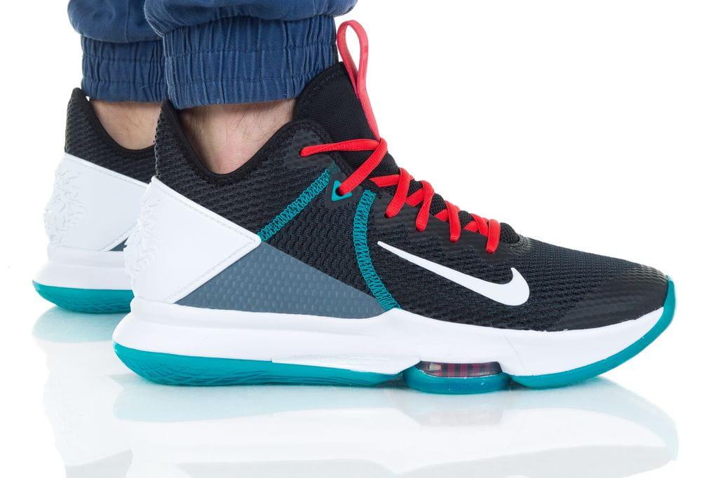 נעליים נייק לגברים Nike LEBRON WITNESS IV - צבעוני כהה