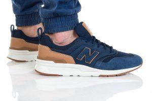 נעלי סניקרס ניו באלאנס לגברים New Balance CM997 - חוםכחול