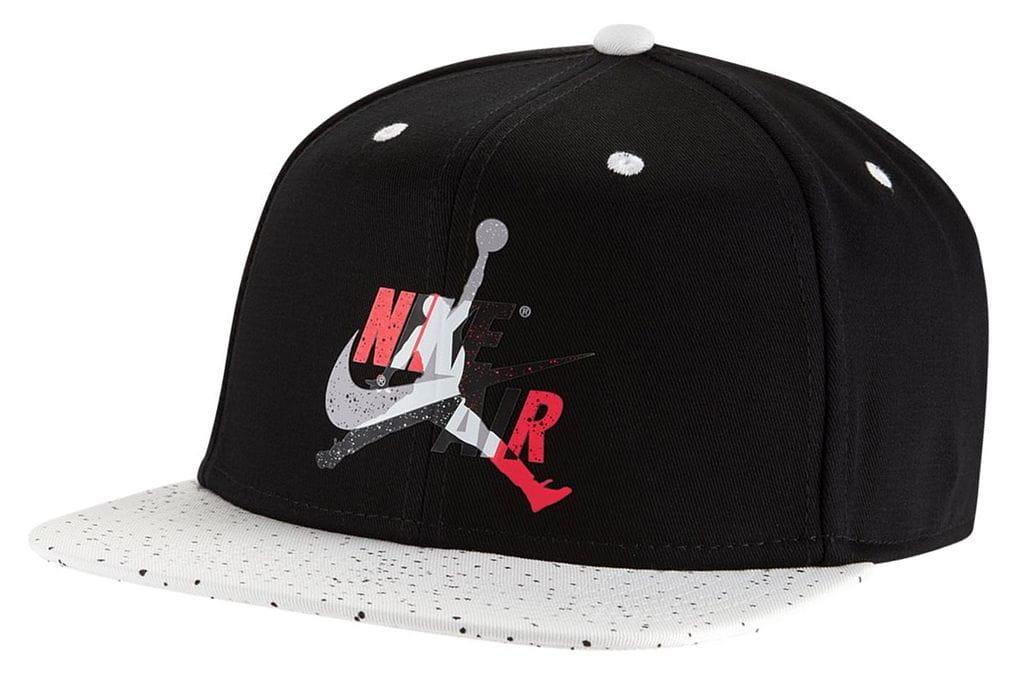 ביגוד נייק לגברים Nike JORDAN PRO CAP JM - שחור