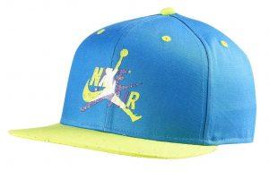 ביגוד נייק לגברים Nike JORDAN PRO CAP JM - כחול