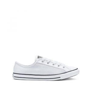 נעלי סניקרס קונברס לנשים Converse Chuck Taylor All Star Dainty Basic - לבן