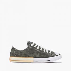 נעליים קונברס לגברים Converse Chuck Taylor All Star OX - אפור כהה