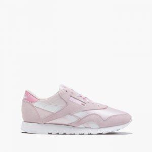 נעליים ריבוק לנשים Reebok Classic Nylon - לבן/ורוד