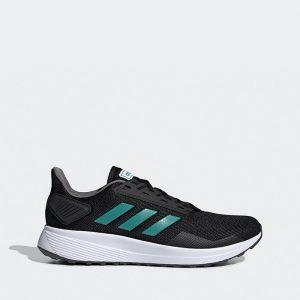 נעליים אדידס לגברים Adidas DURAMO 9 - שחור/ירוק