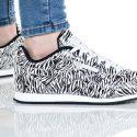 נעלי סניקרס ריבוק לנשים Reebok ROYAL CLJOG 2 - שחור/לבן