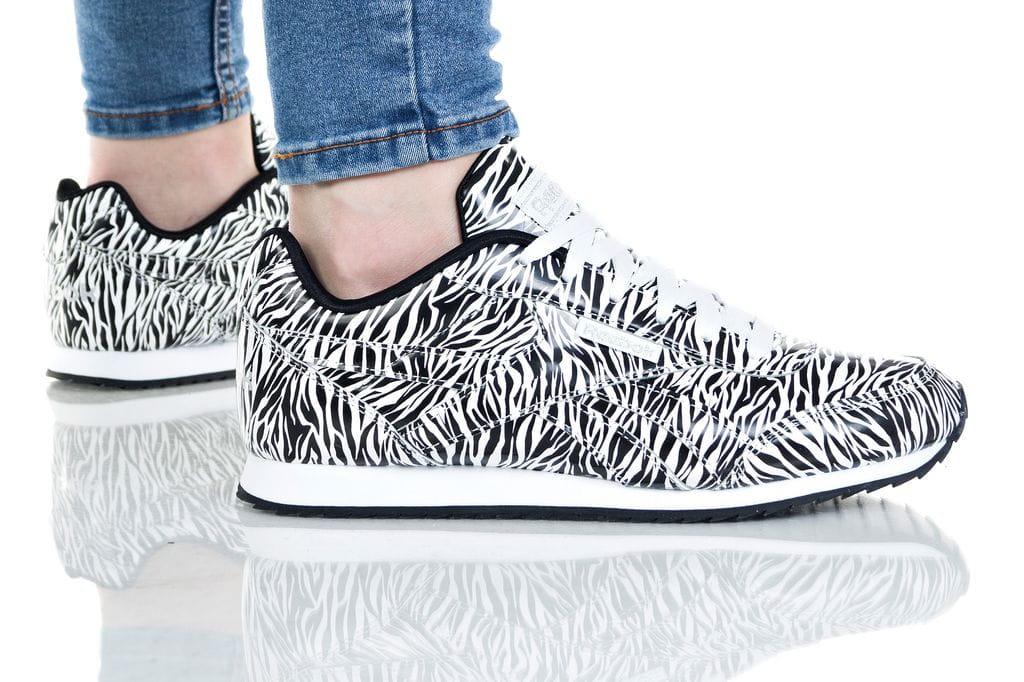 נעליים ריבוק לנשים Reebok ROYAL CLJOG 2 - שחור/לבן