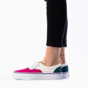 נעליים ואנס לנשים Vans Era Platform - צבעוני/לבן