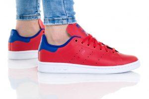 נעליים אדידס לנשים Adidas Stan Smith - אדום