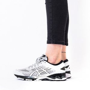 נעליים אסיקס לנשים Asics Gel-Kayano 26 - שחור/לבן