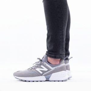 נעליים ניו באלאנס לגברים New Balance MS574 - אפור בהיר