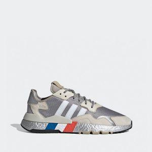 נעלי סניקרס אדידס לנשים Adidas Originals Nite Jogger - כסף